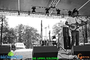 Banjo Bass at Backwoods Music Festival