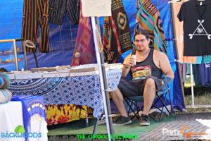 vendor at Backwoods Music Festival