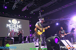 Nahko and the Medicine for the People at Backwoods Music Festival