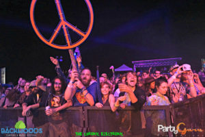 Crowd Shot during Nahko and the Medicine for the People at Backwoods Music Festival