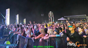 Crowd Shot: Nahko and the Medicine for the People at Backwoods Music Festival
