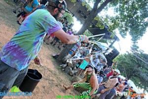 Bubbles During Michal Menert & TPF at Backwoods Music Festival