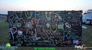 Chalk Wall Backwoods Music Festival