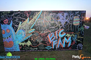 Chalk Wall Backwoods Music Festival