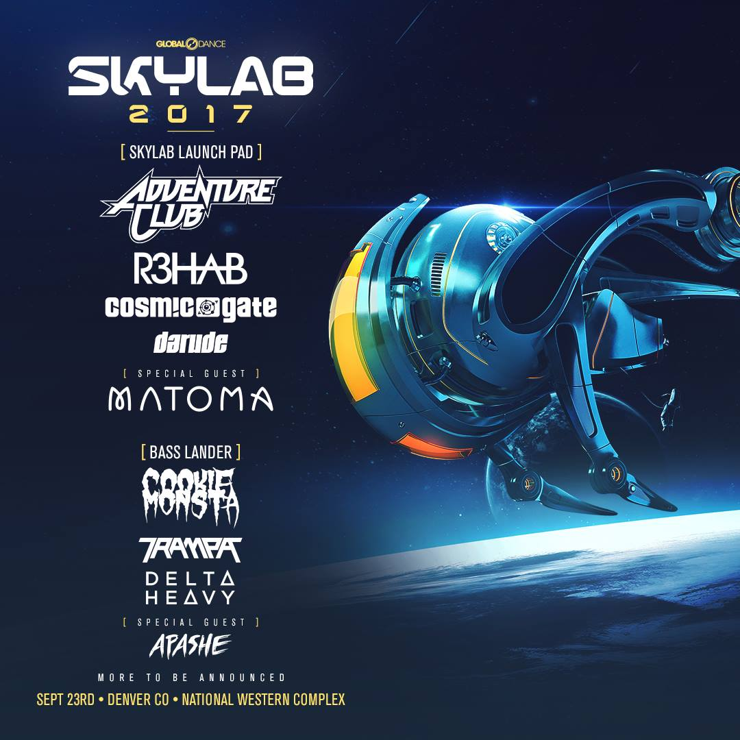 Global Dance Never Disoints And With This Being The 23rd Anniversary Of Skylab You Can Guarantee That Event Is Gonna Wreck Your Mind Really Get