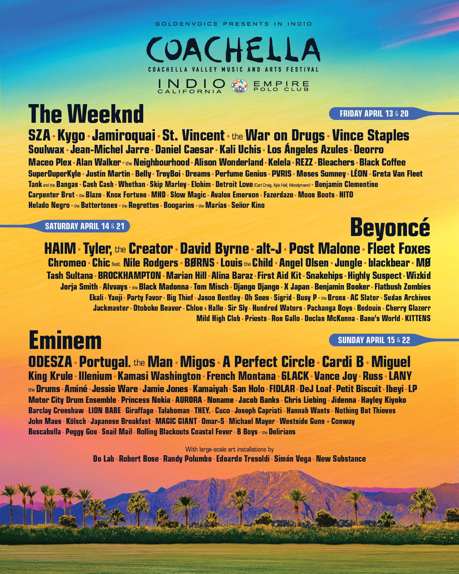 Coachella Releases 'Day Club' Pool Parties in Palm Springs